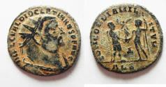 Ancient Coins - DIOCLETIAN AE FOLLIS. ALEXANDRIA MINT