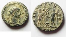 Ancient Coins - ORIGINAL DESERT PATINA. NUMERIAN AE ANTONINIANUS