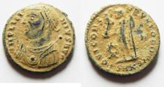Ancient Coins - AS FOUND. ORIGINAL DESERT PATINA: LICINIUS I AE FOLLIS