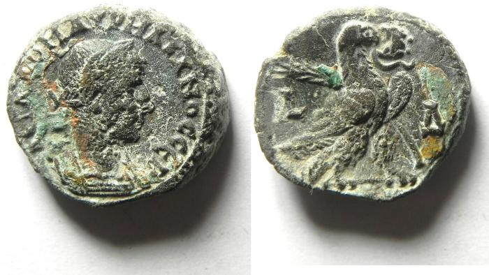 Ancient Coins - EGYPT , ALEXANDRIA , AURELIAN POTIN TETRADRACHM