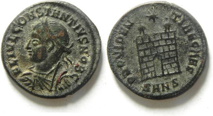 Ancient Coins - CONSTANTIUS II AE 3 , NICE
