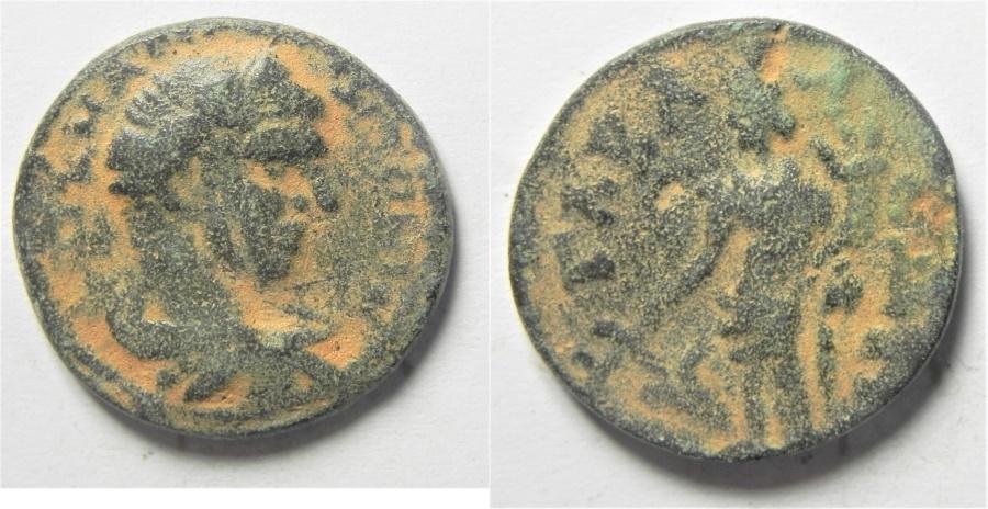 Ancient Coins - Syria, Seleucis and Pieria. Gabala. Elagabalus. A.D. 218-222. Æ 22