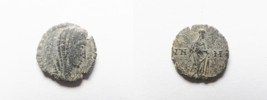 Ancient Coins - CONSTANTINE I POSTHUMOUS AE 4