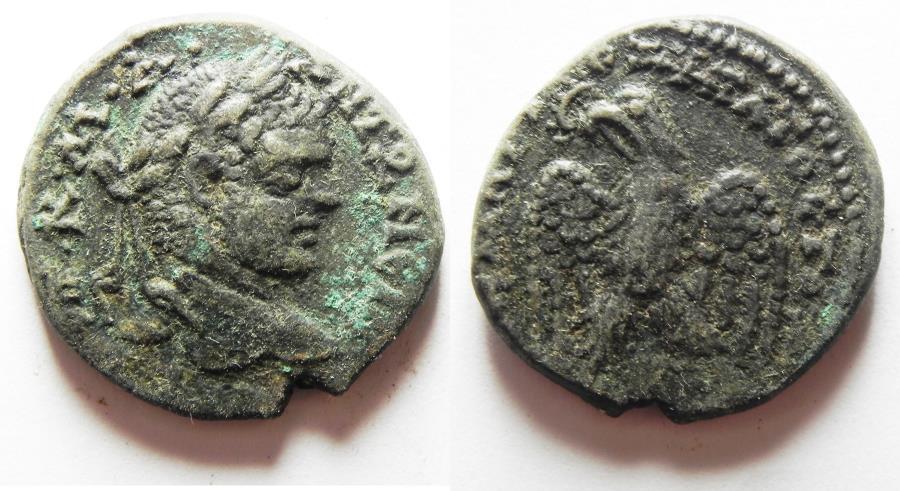 Ancient Coins - ANTIOCH. CARACALLA. BILLON TETRADRACHM
