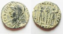 Ancient Coins - CONSTANTINE I AE 3 . COMMEMORATIVE. DESERT PATINA