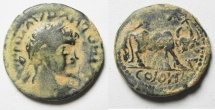 Ancient Coins - ARABIA. PETRA. ELAGABALUS - FOUNDER COIN  AE 23. NICE FOR THE TYPE
