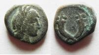 Ancient Coins - NABATAEAN KINGDOM. ARETAS IV  AE 13.