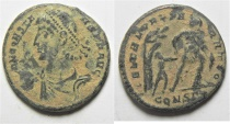 Ancient Coins - CONSTANTIUS II AE CENT. CONSTANTINOPLE