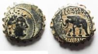 Ancient Coins - 	SELEUKID KINGS of SYRIA. ANTIOCHOS VI. LOVELY COIN! AE 22