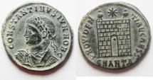 NICE CONSTANTINE II AE 3 . ANTIOCH MINT