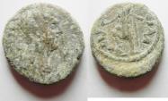 Ancient Coins - JUDAEA. CAESAREA. HADRIAN AE 22