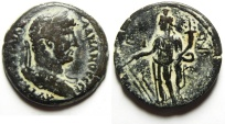 Ancient Coins - Egypt. Alexandria under Hadrian (AD 117-138). AE drachm. Struck in regnal year 17 (AD 133/4).