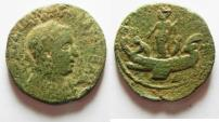 Ancient Coins - PHOENICIA. TYRE.  VALERIAN I AE 29. VERY RARE