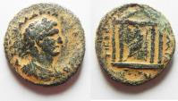 Ancient Coins - JUDAEA. GALILEE. TIBERIAS . HADRIAN AE 24