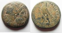 Ancient Coins - PTOLEMAIC KINGDOM. PTOLEMY III AE 29
