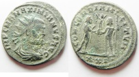 Ancient Coins - MAXIMIANUS AE ANTONINIANUS AS FOUND