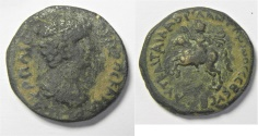 Ancient Coins - SYRIA. UNCERTAIN SOUTHERN MINT UNDER MARCUS AURELIUS, AS CAESAR (AD 139-161). AE21
