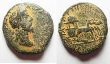 Ancient Coins - RARE COIN. EXTREMELY NICE FOR THE TYPE: Decapolis. Philadelphia under Commodus (AD 177-192). AE 27mm, 14.66g.