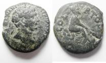 Ancient Coins - Akko-Ptolemais, Phoenicia. Trajan (98 - 117 AD). AE 23
