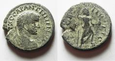 Ancient Coins - RARE: ARABIA, Rabbathmoba. Elagabalus. AD 218-222. Æ 27