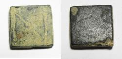 Ancient Coins - ANCIENT ROMAN BRONZE WEIGHT 300 - 400 A.D. 1 NUMISMA