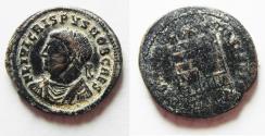 Ancient Coins - CRISPUS AE 3 . ALEXANDRIA MINT