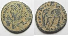 Ancient Coins - CONSTANTIUS II AE CENT. CONSTANTINOPLE