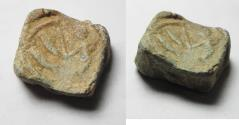Ancient Coins - ANCIENT GREEK LEAD BULLA. TOKEN. 300 B.C
