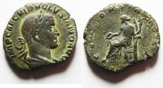 Ancient Coins - VOLUSIAN Æ Sestertius. NICE