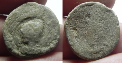 Ancient Coins - ANTINOOS: EGYPT. ALEXANDRIA. SECOND-THIRD CENTURIES AD. LEAD TESSERA