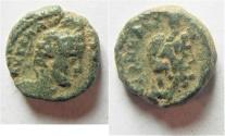 Ancient Coins -  Samaria. Neapolis under Elagabalus (AD 218-222). AE 16mm, 6.26g.