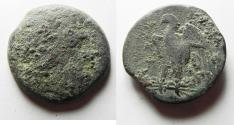 Ancient Coins - PTOLEMAIC KINGDOM. PTOLEMY II AE 25. AS FOUND