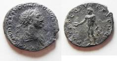 Ancient Coins - AS FOUND: TRAJAN SILVER DENARIUS