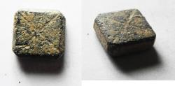 Ancient Coins - ANCIENT ROMAN BRONZE WEIGHT. 1 NUMISMA. 300 A.D