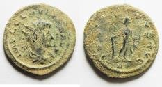 Ancient Coins - 	AS FOUND. IN IT'S ORIGINAL STATE: CLAUDIUS II GOTHICUS AE ANTONINIANUS