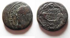 Ancient Coins - JUDAEA, Neapolis. Domitian. 81-96 CE. Æ 24