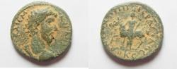 Ancient Coins - Decapolis. Antiochia ad Hippum under Marcus Aurelius (AD 161-180). AE 24mm