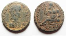 Ancient Coins -  Apparently unpublished type: Bithynia. Juliopolis under Elagabalus(AD 218-222). AE 24mm, 10.01g.