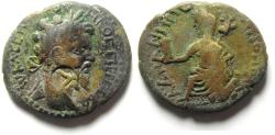 Ancient Coins - ARABIA , PETRA , SEPTEMIUS SEVERUS AE 26 , CHOICE QUALITY , VERY RARE THIS NICE