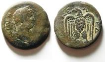 Ancient Coins - EGYPT , ALEXANDRIA , HADRIAN AE DRACHM , NICE QUALITY , RARE TYPE