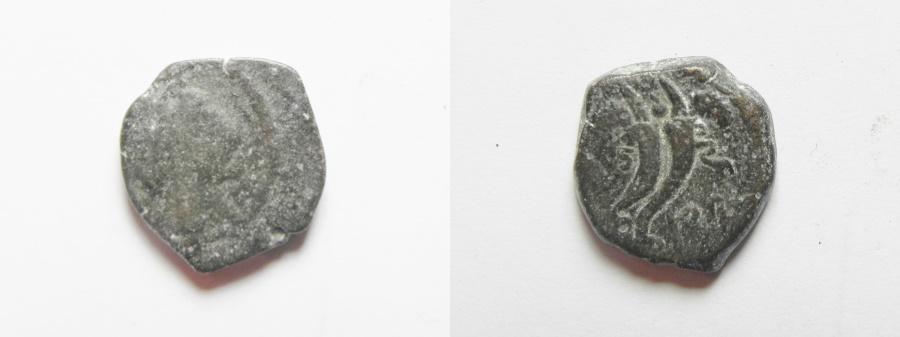 Ancient Coins - NABATAEAN KINGDOM. PHASAEL. SON OF ARETAS IV . AE 13