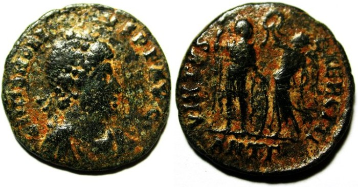 Ancient Coins - HONORIUS AE 3