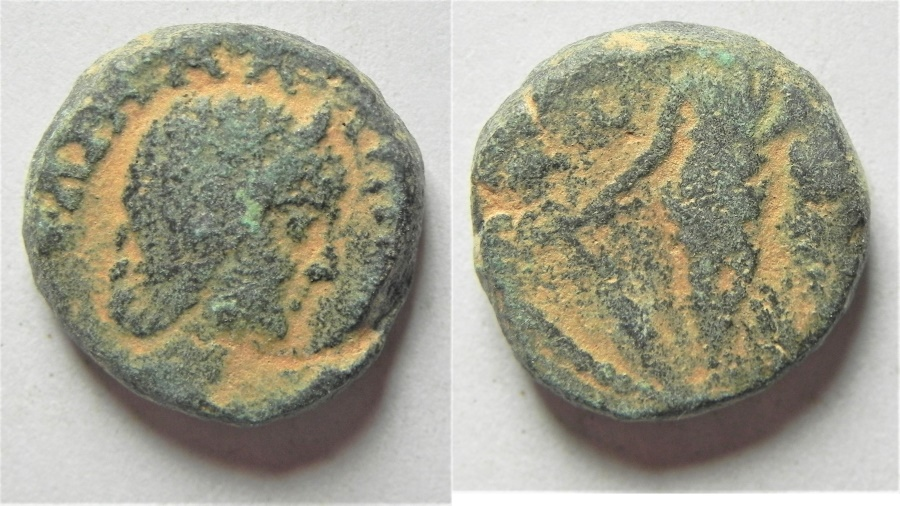 Ancient Coins - CITY COIN FROM THE HOLY LAND. NEAPOLIS?