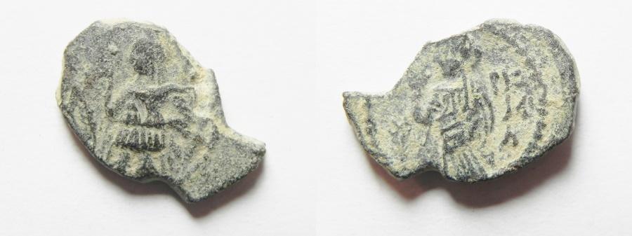 Ancient Coins - NABATAEAN KINGDOM. ARETAS IV AE 19