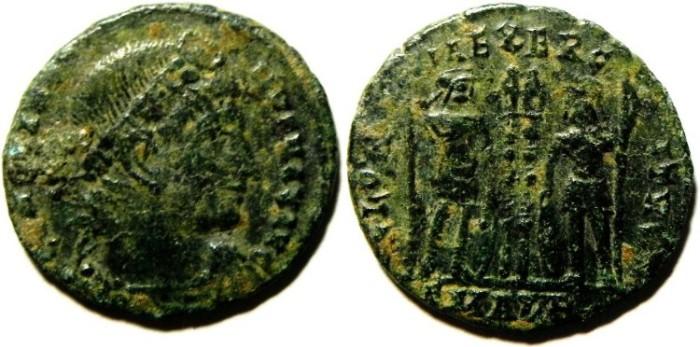 Ancient Coins - constantius ii ae 3