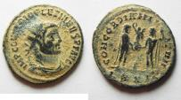 Ancient Coins - DIOCLETIAN AE ANTONINIANUS. AS FOUND