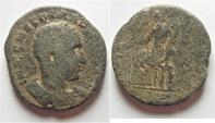 Ancient Coins -  Judaea. Caesarea Maritima under Trebonianus Gallus (AD 251-253). AE 26mm, 14.96g.