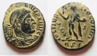 Ancient Coins - DESERT PATINA. CONSTANTINE I AE FOLLIS