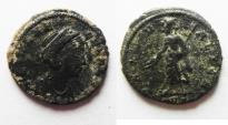 Ancient Coins - HELENA AE 4 . AS FOUND