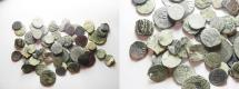 Ancient Coins - LOT OF 62 MAMLUK AE COINS
